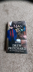 MAN With A VAN My Story 2021 DREW PRITCHARD SALVAGE HUNTERS BOOK!
