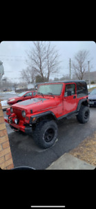 1997 Jeep tj flexible on price for serious inquires