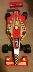 Large racing car toy