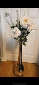 Large vase of M&S flowers