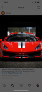 Wanted Ferrari any condition