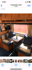 Giest 535 4birth caravan