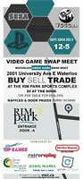 *****Waterloo Video Game Swap Meet! September 20th! *****