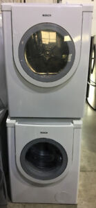 "Bosch 27"" front load washer & dryer PRICE $1299"