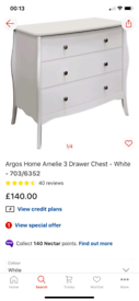 Baroque 3 Drawer elegant Chest £85. Real Bargains Clearance Outlet Lei