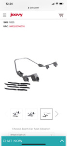 Stroller adaptor for britax b-safe 35 and more