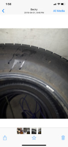 Winter Tires: size 205/70R15.
