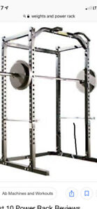 Weight Plates/Power Rack/Olympic Bar