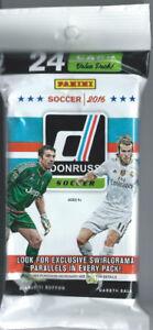 2016 Donruss Soccer 12 Pack Jumbo Box -24 cards each pack