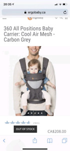 761e7bef3c8 Ergobaby 360 Cool Air Mesh Carrier