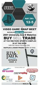 ===Waterloo Video Game Swap this Sunday May 29th===