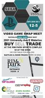 **---Waterloo Video Game Swap Meet! September 20th!---**