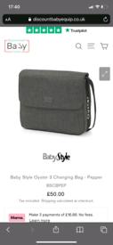 Oyster pram bag
