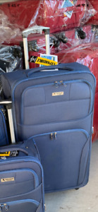 luggage and suitcase