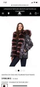 5000$ winter coat moose knuckles for 1200$ ! Brand new !