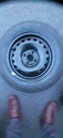 """New Bridgestone 165/70/R14-81T Tyre on new 14"""" 4 Stud Wheel+Jack/Tools"""