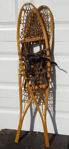 Brand new GV traditional 10 X 46 wood snowshoes – Raquettes bois Gatineau Ottawa / Gatineau Area image 7