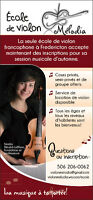 École de violon francophone à Fredericton / French violin School