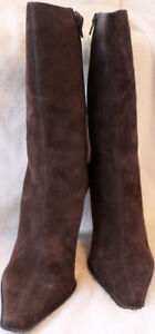 Kenneth Cole New York Brown Suede Boots US 8.5