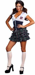 SEXY HIGH SCHOOL GIRL - Skippin School Adult Costume