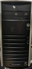 Hp proliant ml115 server