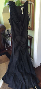 Beautiful Black Evening Gown - WORN ONCE!