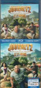 Journey 2 The Mysterious Island-Blu-Ray+ DVD-like new