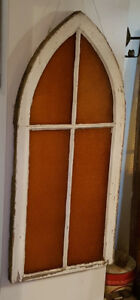 Antique 100 yr old Stained Glass Window