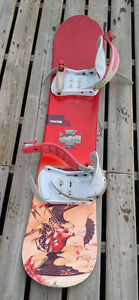Dakine board and Ambient bindings