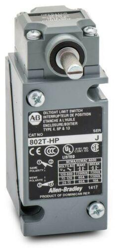New Allen Bradley 802T-HP Plug In Oiltight Limit Switch Series H 802THP NIB - $119.99
