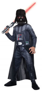 Darth Vader Costume Child's Sizes M/L NEW