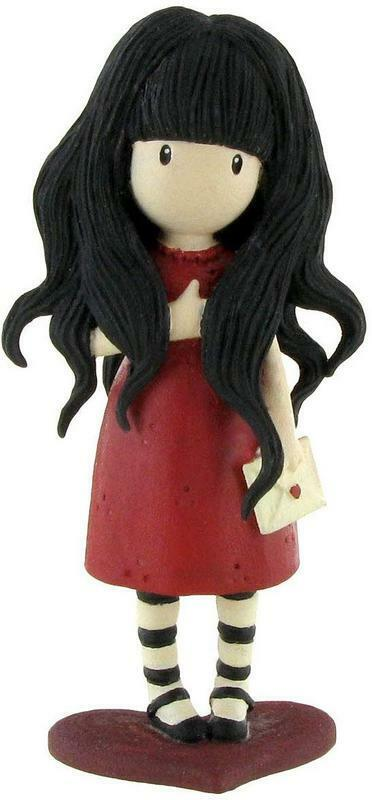 Gorjuss Figurine From The Heart 3 7/8in Santoro London Comansi Figure 90116