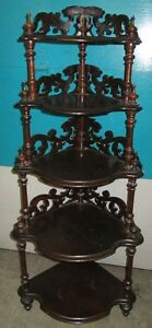Beautiful Antique What Not Shelf West Island Greater Montréal image 1