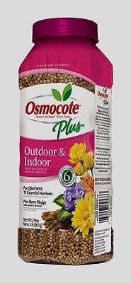 Outdoor Plant Food - OSMOCOTE PLUS Outdoor Indoor Plant Food Fertilizer Annuals Container Plants 2 lb