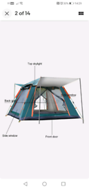 Instant Automatic tent.