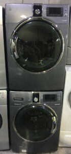 """27"""" front load washer & gas dryer Set $1299 Kenmore"""