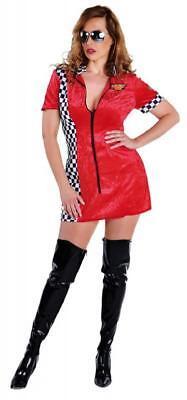 Sexy Race Girl Boxenluder Rennfahrerin Grid Kostüm Kleid Overall Formel1 - Racer Sexy Kostüm