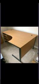 Corner desk and filing cabinet home office £100
