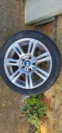 "Bmw 3 Series 17"" Alloy Wheel Tyre Breaking Parts"