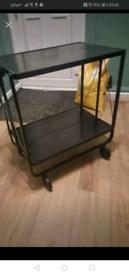 Black hostess trolley