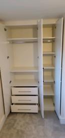bespoke wardrobe, sliding doors