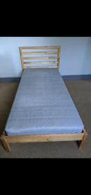 IKEA single bed & mattress