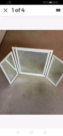 Mirror Dressing Table Mirror white
