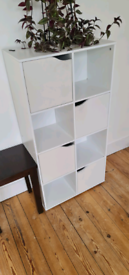 Standing square cabinet with multi doors