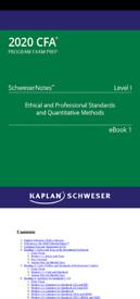CFA Level 1 Schweser 2020 Complete Package