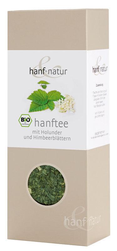 (23,73€/100g) Hanf-Tee-Mischung 40g mit Holunder und Himbeerblättern / loser Tee