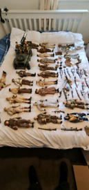20 dragon 1/6 scale army figures and accessories