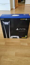 Playstation 5 Digital Version + 1 year PS Plus + £50 PSN Top Up