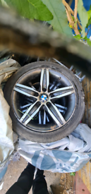 "Bmw 1 Series 17"" Alloy Wheels Tyers Breaking Parts"
