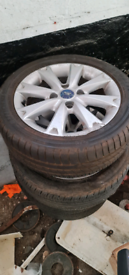 Ford fiesta 15 inch alloy wheels